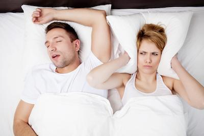 Man Snoring | Snoring Treatment Fairfield NSW