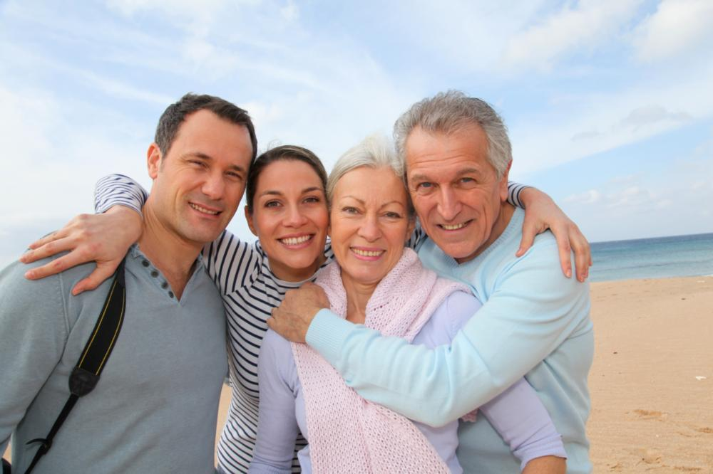 Family at Beach | Fairfield NSW Dentist