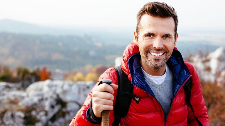 Man Hiking | Oral Health Fairfield, NSW